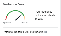 Broad audience