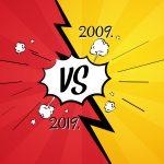 #10YearChallenge u digitalnom marketingu: 2009. vs 2019.